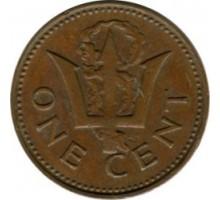 Барбадос 1 цент 1973-1991