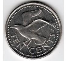 Барбадос 10 центов 1973-2005