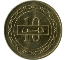 Бахрейн 10 филсов 2002-2008