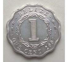 Белиз 1 цент 1976-2018