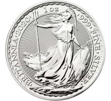 Великобритания 2 фунта 2020 Британия. Серебро
