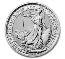 Великобритания 2 фунта 2019 Британия. Серебро