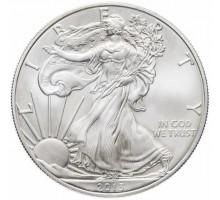 США 1 доллар 2003. Шагающая Свобода. Серебро