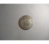 Великобритания 1 шиллинг 1936 серебро