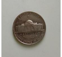 США 5 центов 1942 Р серебро