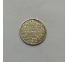 Канада 10 центов 1906 серебро