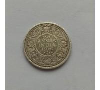 Индия 2 анна 1916 серебро