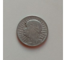 Польша 2 злотых 1933 серебро