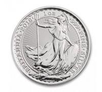Великобритания 2 фунта 2018 Британия серебро