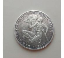 Германия 10 марок, 1972. XX летние Олимпийские Игры, Мюнхен 1972 - Спортсмены. Серебро
