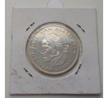 Германия 5 марок 1970. 200 лет со дня рождения Людвига ван Бетховена. Серебро