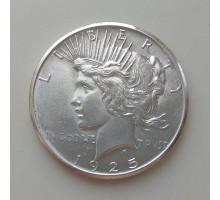 США 1 доллар 1925. Серебро