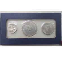 США 1976. Набор 25, 50 центов и 1 доллар 200 лет независимости. Серебро