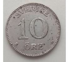 Швеция 10 эре 1919 серебро