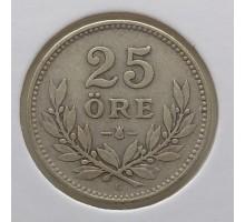 Швеция 25 оре 1929. Серебро