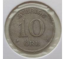 Швеция 10 оре 1939. Серебро