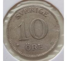 Швеция 10 оре 1942. Серебро
