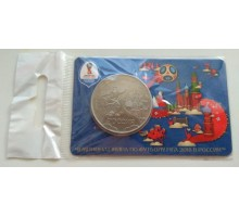 Медаль 2018  ММД. Страны-участницы чемпионата мира по футболу. Сборная России