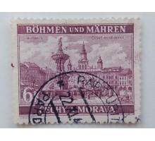 Богемия и Моравия 1940-1941. 6 к. (1033)
