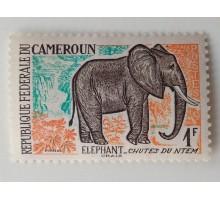 Камерун 1962. Слон (1044)