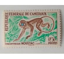 Камерун 1962. Обезьяна (1043)