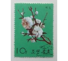 Северная Корея 1964. Цветы (1091)