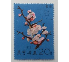 Северная Корея 1964. Цветы (1094)