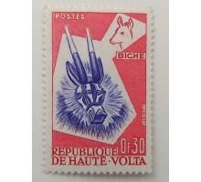 Верхняя Вольта 1960 (1285)
