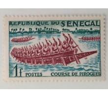 Сенегал 1961. Древние гонки на галерах (1041)