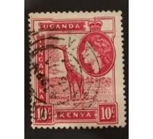 Кения Уганда Танганьика 1954 (1461)