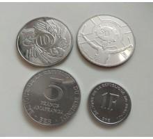 Бурунди 1980-2011. Набор 4 монеты