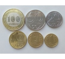 Казахстан 2019. Набор 6 монет