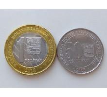 Венесуэла 2018. Набор 2 монеты